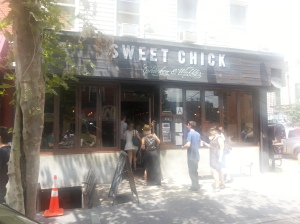 Sweet Chick Restaurant on Bedford Avenue